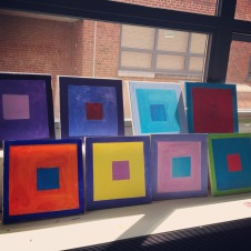 Josef Albers squares