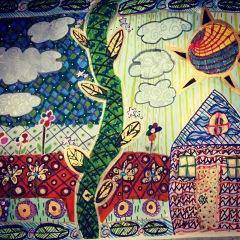 Mughal fairytale illustration