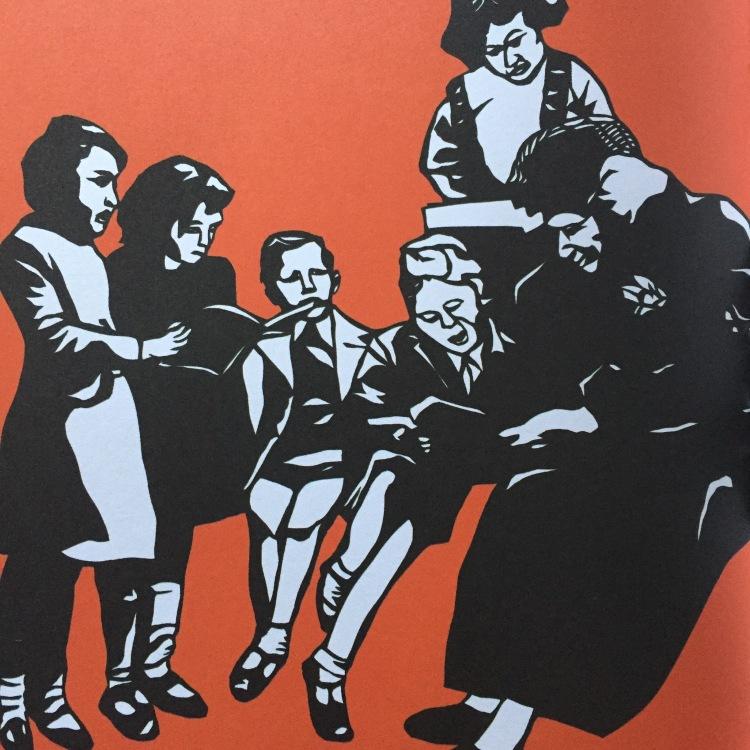 Illustration of Maria Montessori from Rad Women Worldwide - Kate Schatz